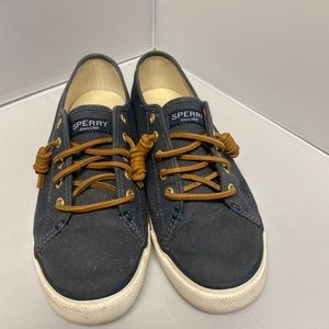 Sperry Navy Boat Shoes size 7.5